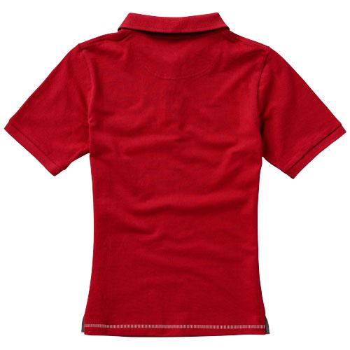 Calgary dámská polokošile bílo-červená