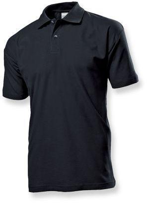 POLO MEN pánská polokošile, 170 g/m2, STEDMAN, černá