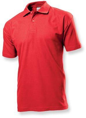 POLO MEN pánská polokošile, 170 g/m2, STEDMAN, červená