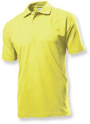 POLO MEN pánská polokošile, 170 g/m2, STEDMAN, žlutá