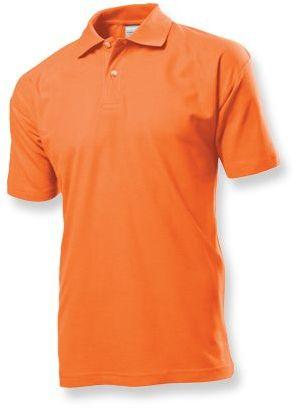 POLO MEN pánská polokošile, 170 g/m2, STEDMAN, oranžová