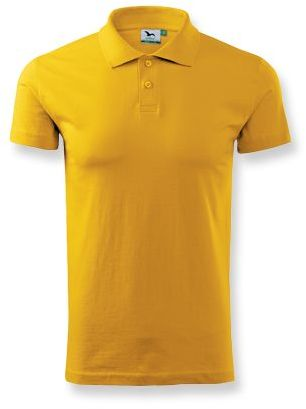 POLOSHIRT polokošile hladká 180g, ADLER, žlutá