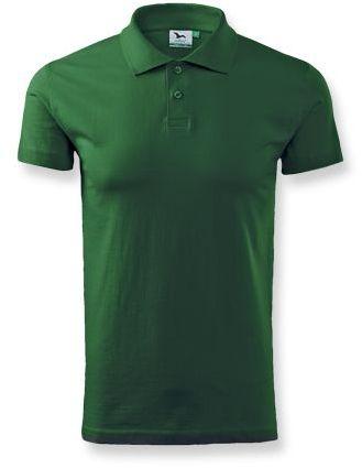 POLOSHIRT polokošile hladká 180g, ADLER, zelená