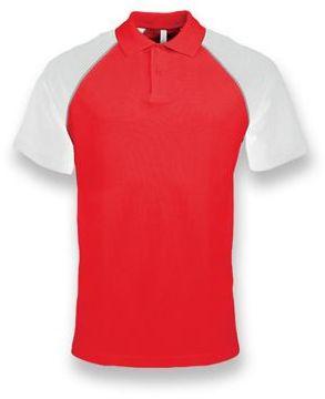 RAGEN pánská polokošile, 200 g/m2, KARIBAN, červená