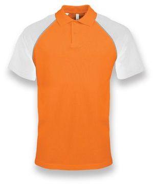 RAGEN pánská polokošile, 200 g/m2, KARIBAN, oranžová