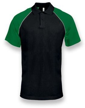 RAGEN pánská polokošile, 200 g/m2, KARIBAN, tmavě zelená