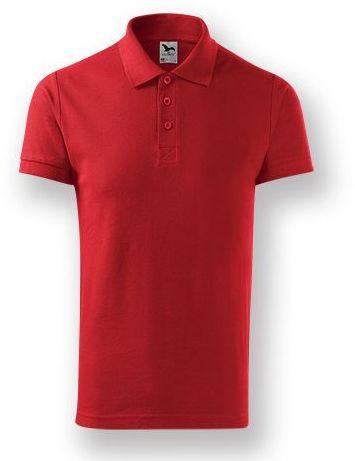 POLITO MEN pánská polokošile, 170 g/m2, ADLER, červená