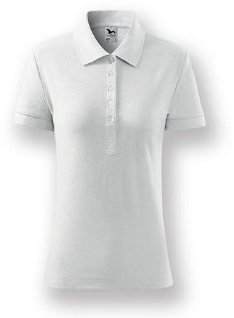 POLITO WOMEN dámská polokošile, 170 g/m2, ADLER, bílá