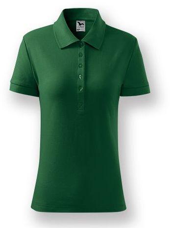 POLITO WOMEN dámská polokošile, 170 g/m2, ADLER, tmavě zelená