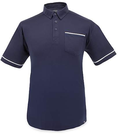 Polokošile s náprsní kapsou, námořnická modrá