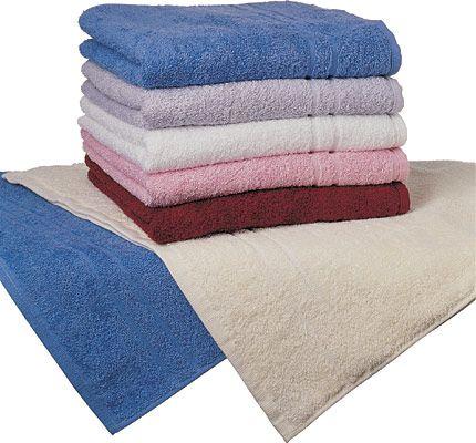 Froté ručník 400 g bílý