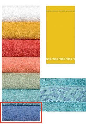 Froté ručník 450 g světle modrý