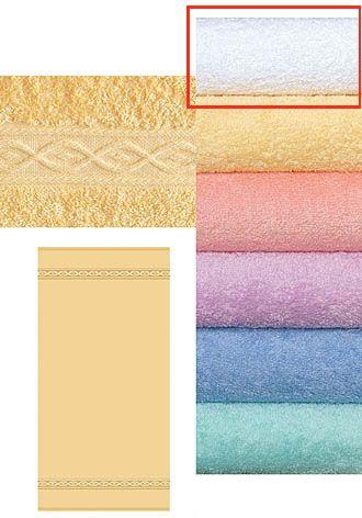 Froté ručník 450 g bílý