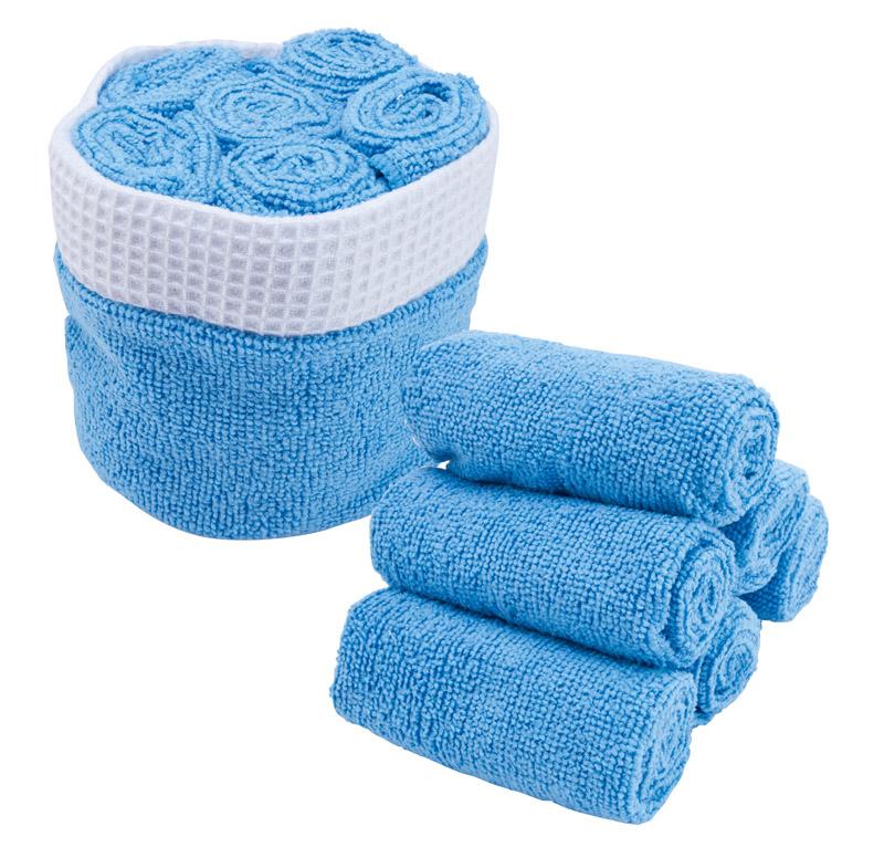 Sada ručníků modrá