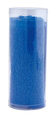 Balboa modrý ručník v pvc tubusu, 65 g