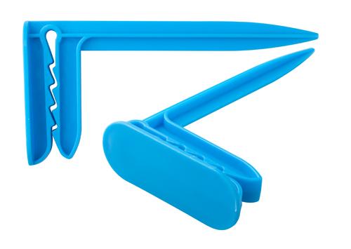 Waky modrý klip na plážový ručník
