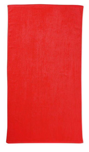 Plážové ručníky Tuva červené