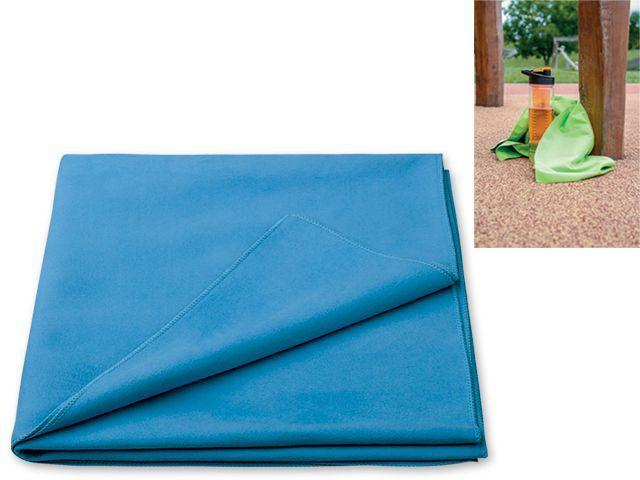 MICROTECH II rychleschnoucí ručník, 200g/m2, tmavě modrá