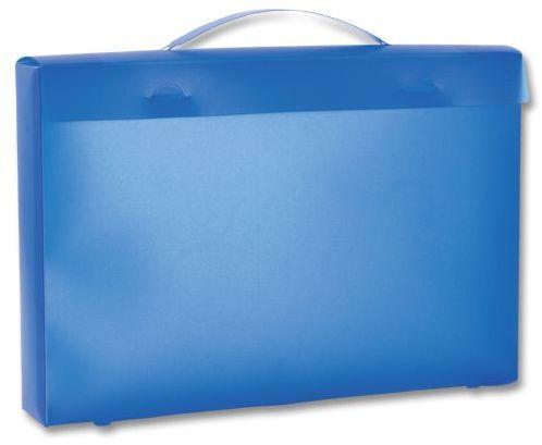 GB TOWEL I plastový obal na ručník, transp., frosty modrý