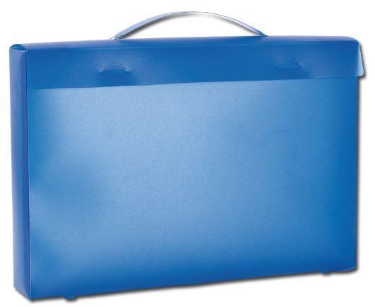GB TOWEL II plastový obal na ručník, transp., frosty modrý