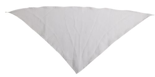 Šátek na krk bílý