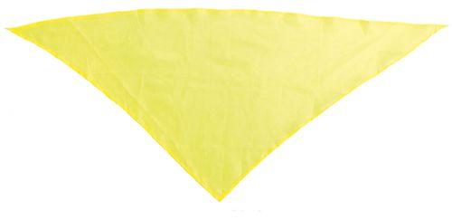 Šátek na krk žlutý