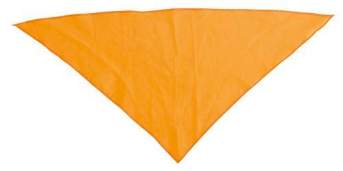 Šátek na krk oranžový