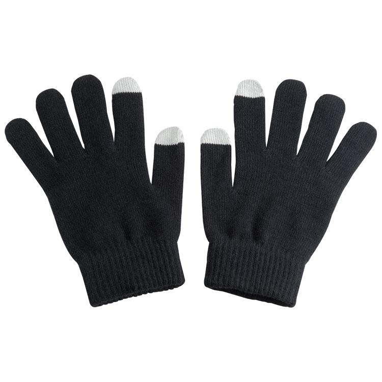 Akrylové rukavice pro dotykový telefon s potiskem
