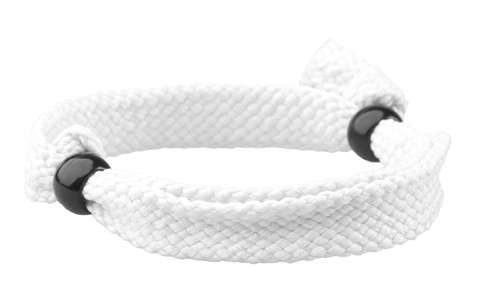 Mitjansi bílý náramek