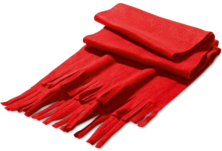 Šála červená