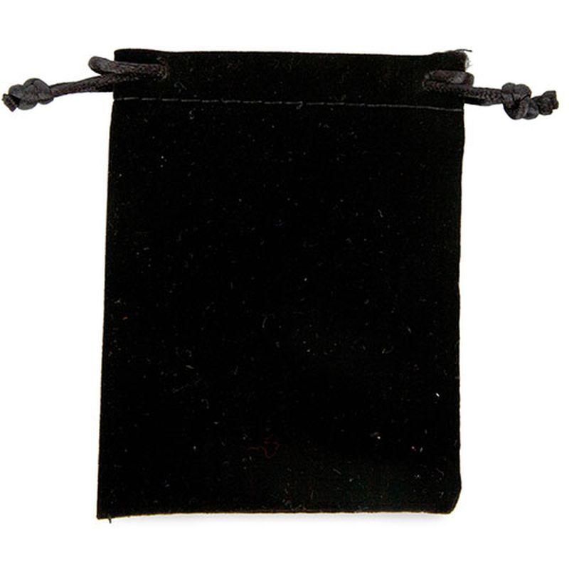 Sametový váček černý