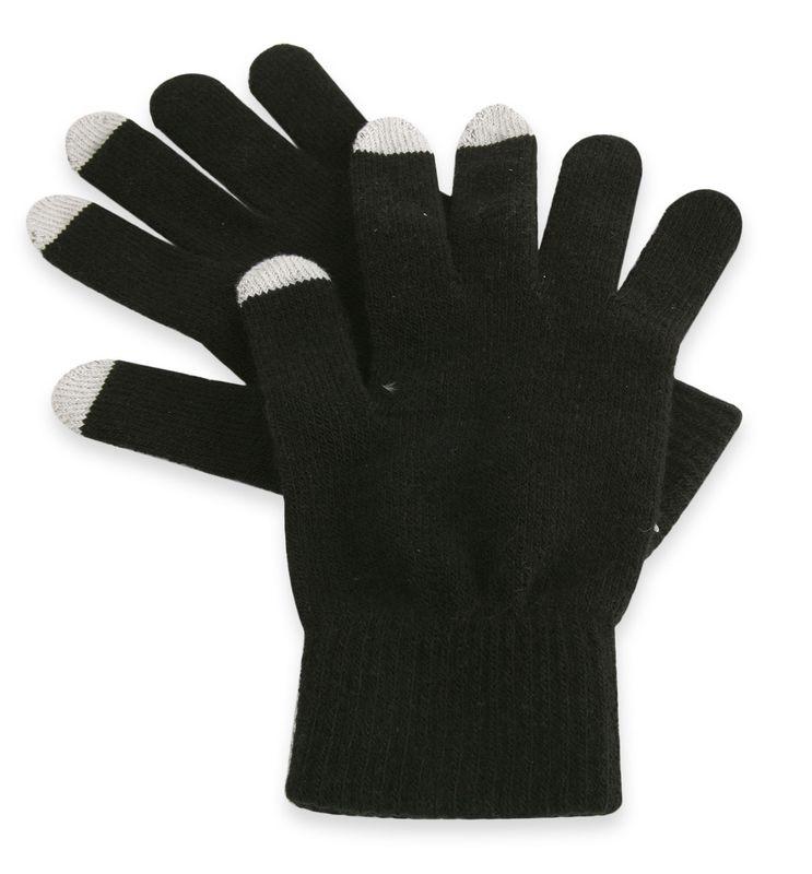 Dotykové rukavice černá