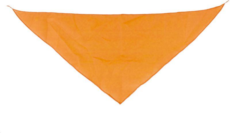 Šátek oranžový s potiskem