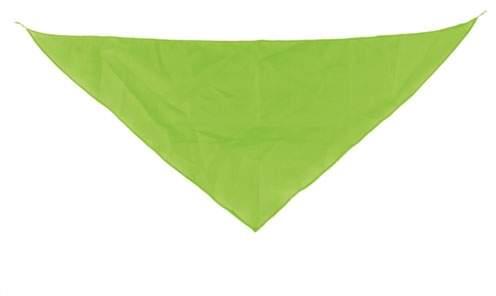 Šátek žlutý, světle zelená