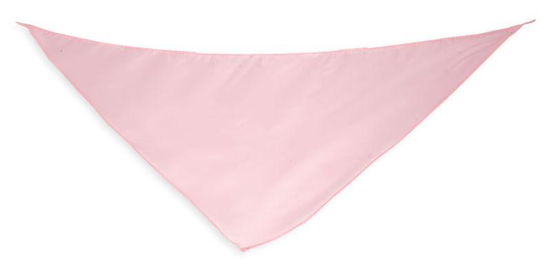 Šátek světle růžový