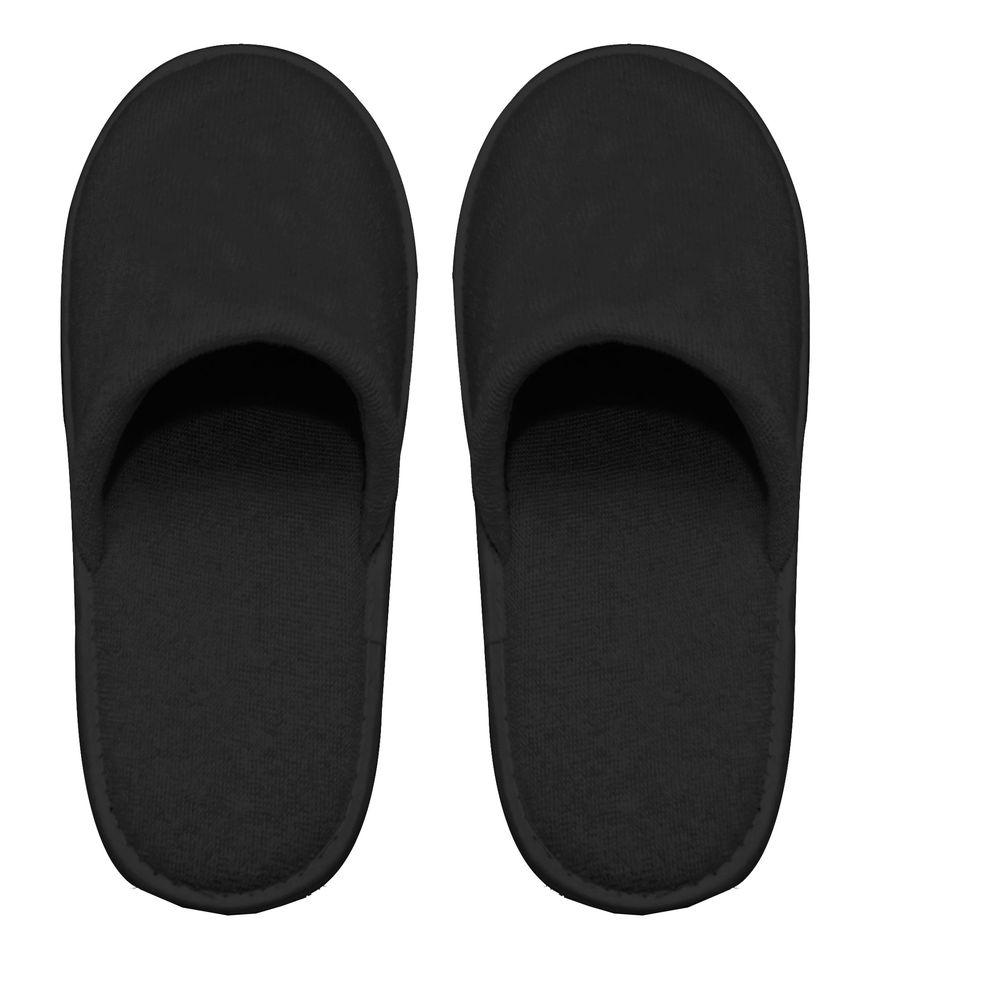Pantofle černé
