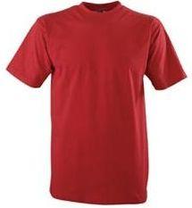 Dětské triko 150 tmavě červená
