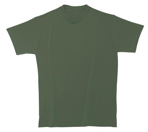 Bavlněné tričko 185 g khaki