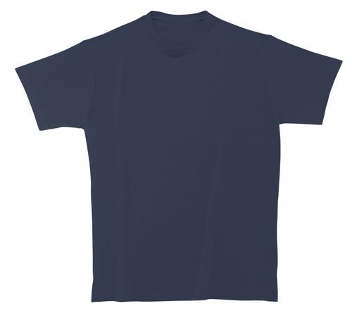 Bavlněné tričko 185 g tmavě modré
