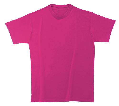 Bavlněné tričko 185 g transparetní růžové