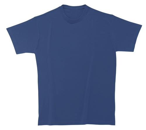 Bavlněné dětské tričko 185 g modré