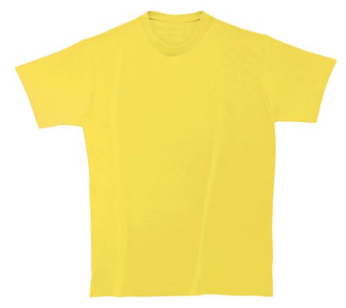 Bavlněné dětské tričko 185 g žluté