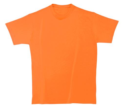 Bavlněné dětské tričko 185 g oranžové