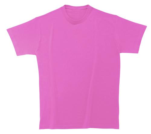 Bavlněné dětské tričko 185 g růžové