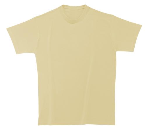 Bavlněné dětské tričko 185 g béžové