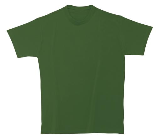 Bavlněné dětské tričko 185 g tmavě zelené