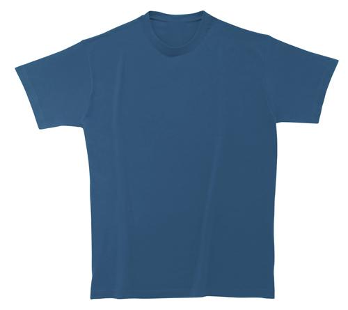 Bavlněné dětské tričko 185 g matně modré