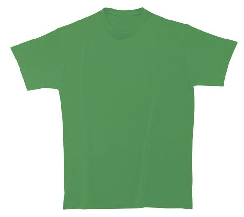 Bavlněné dětské tričko 185 g matně zelené