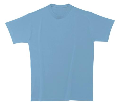Bavlněné dětské tričko 185 g nebesky modré