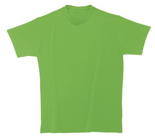 Bavlněné dětské tričko 185 g světle zelené